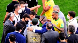 Lionel Messi and Neymar were involved in discussions with health officials