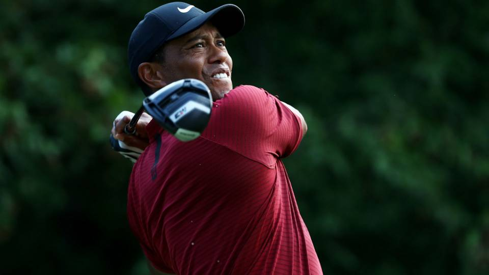 Tiger Woods starts Dell Technologies Championship with head-cover gaffe