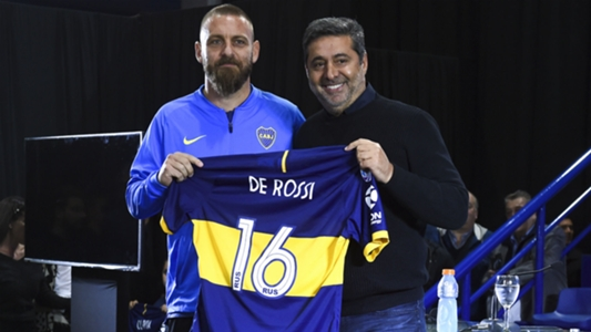 De Rossi: I chose to continue with the craziest fans in football at Boca