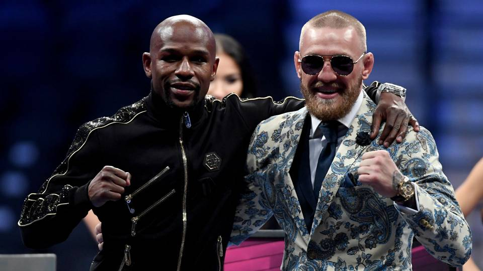 Floyd Mayweather Jr. again teases MMA bout as Conor McGregor rumors float