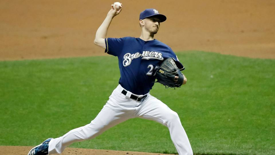 Brewers list rotation 'locks,' expect Jimmy Nelson back by June