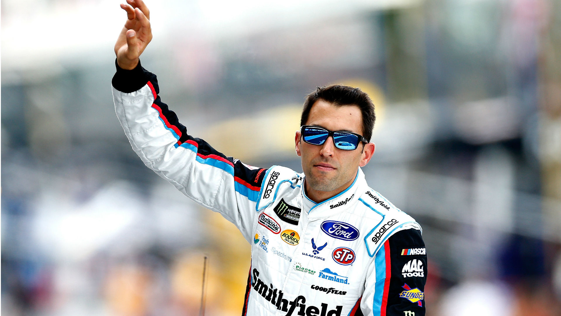 Aric Almirola to replace Danica Patrick at Stewart-Haas Racing next season, report says