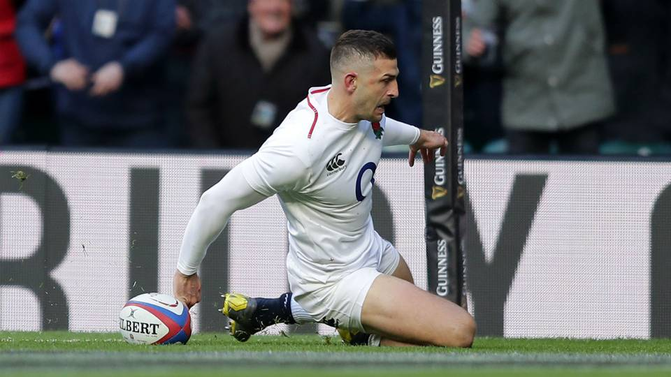 2019 Six Nations: Jonny May's hat trick helps England hammer Les Bleus