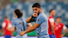 Luis Suarez had a hand in salvaging a point for Uruguay