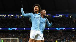 Leroy Sane and Gabriel Jesus