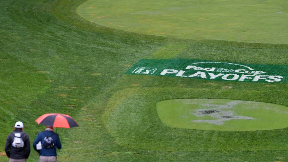 Rain delays BMW Championship, and possibly Jim Furyk's last Ryder Cup pick