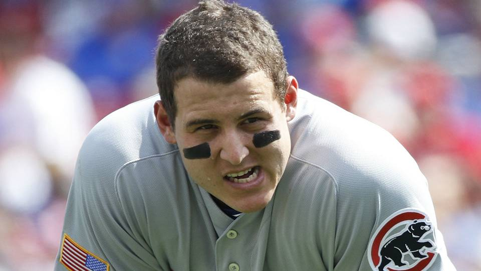 Anthony Rizzo's controversial slide at home plate leads to two Cubs runs