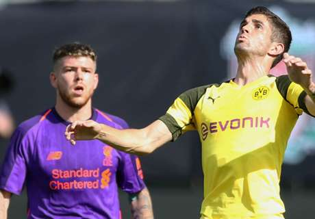 Klopp hails Dortmund star Pulisic after Liverpool loss