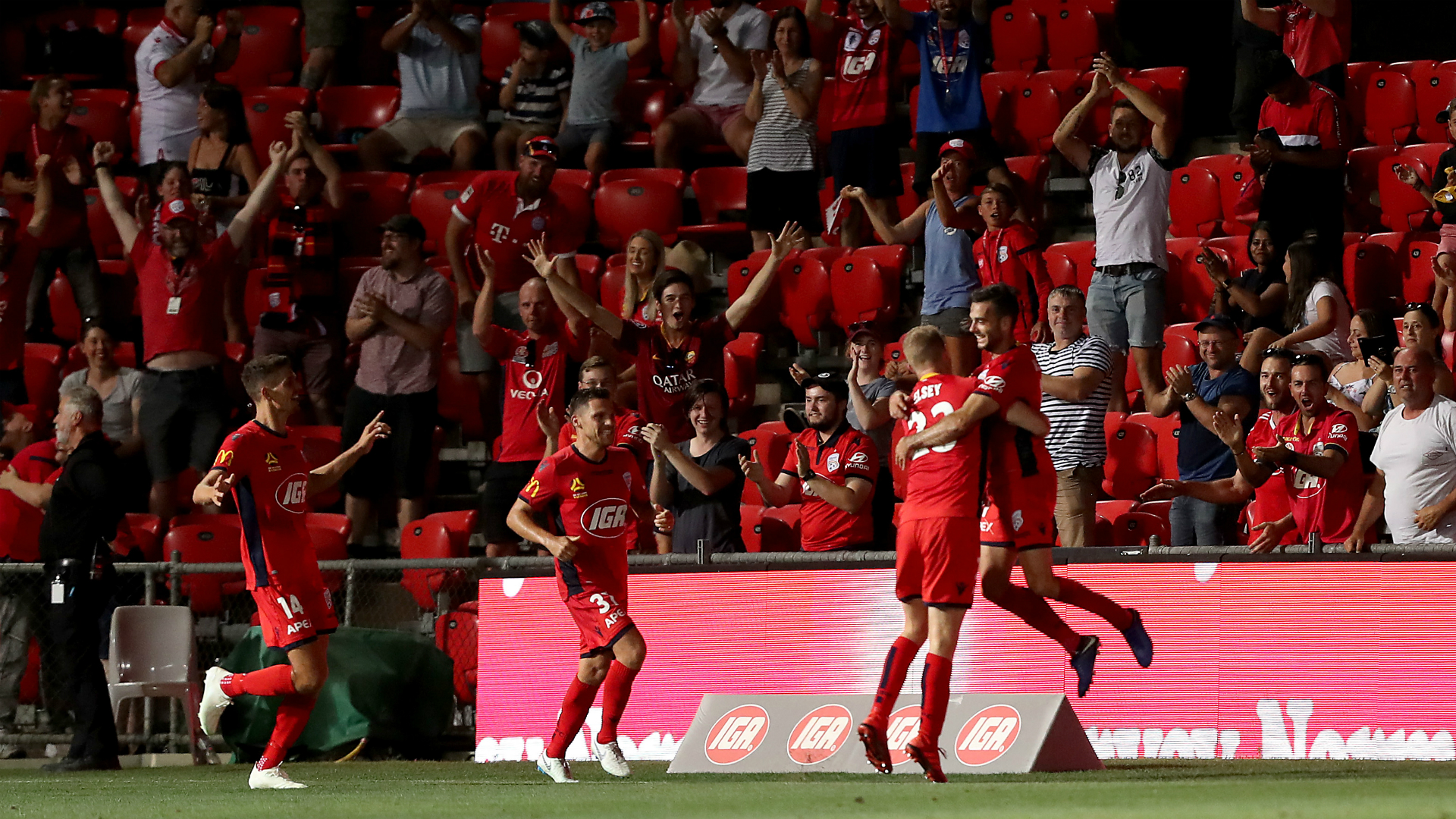 Adelaide United Picture: Adelaide United Pull Off Miraculous Comeback Over Brisbane