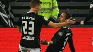 Hamburg 1 RB Leipzig 3: Poulsen and Forsberg fire visitors into DFB-Pokal final