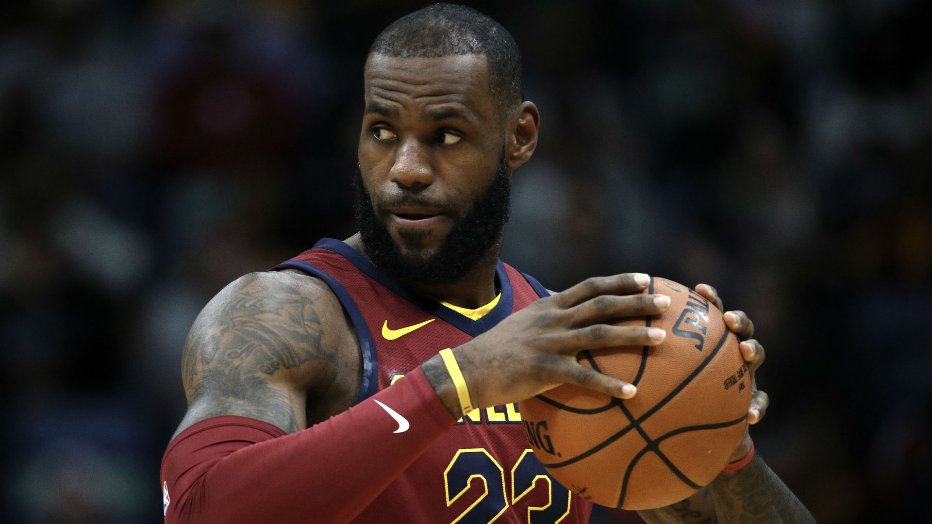 LeBron James uses NBA 2K to see what it's like to play with Isaiah Thomas