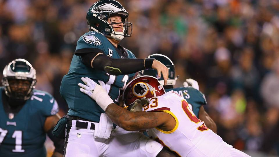 Three takeaways from the Eagles' win over the Redskins