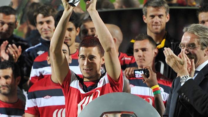 Eden Hazard is backing his former club Lille for Ligue 1 glory