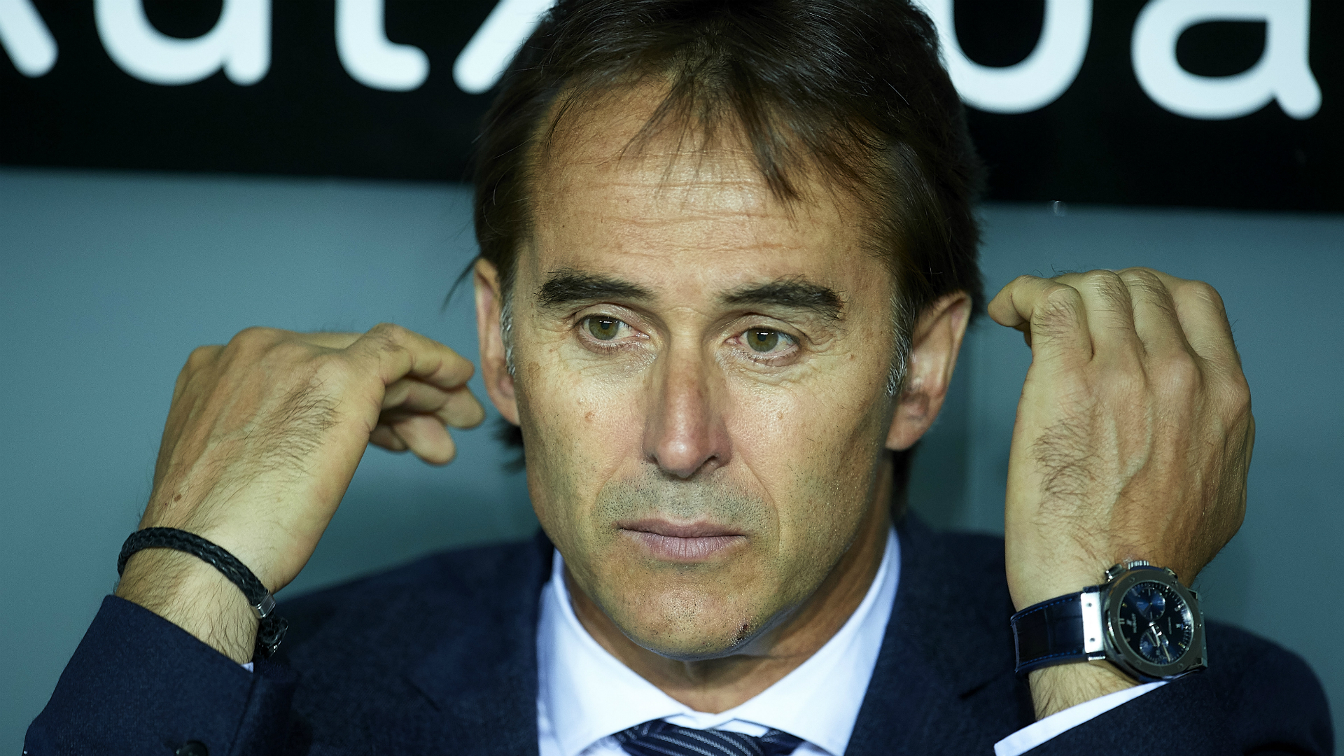 Lopetegui announces that Mariano is drawing in Real Madrid