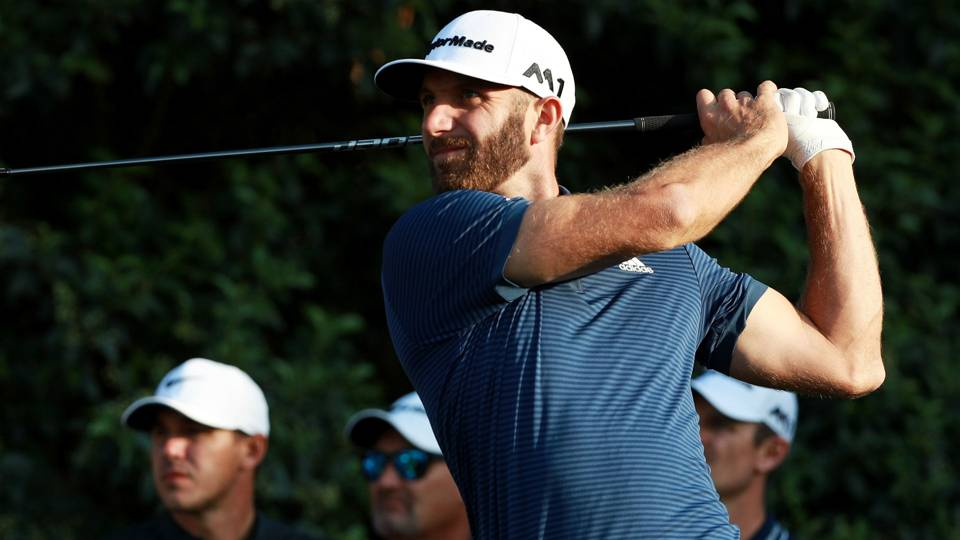 Watch: Dustin Johnson misses hole-in-one on par 4 by inches