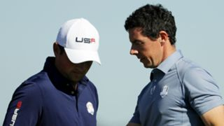 Patrick Reed Rory McIlroy - cropped