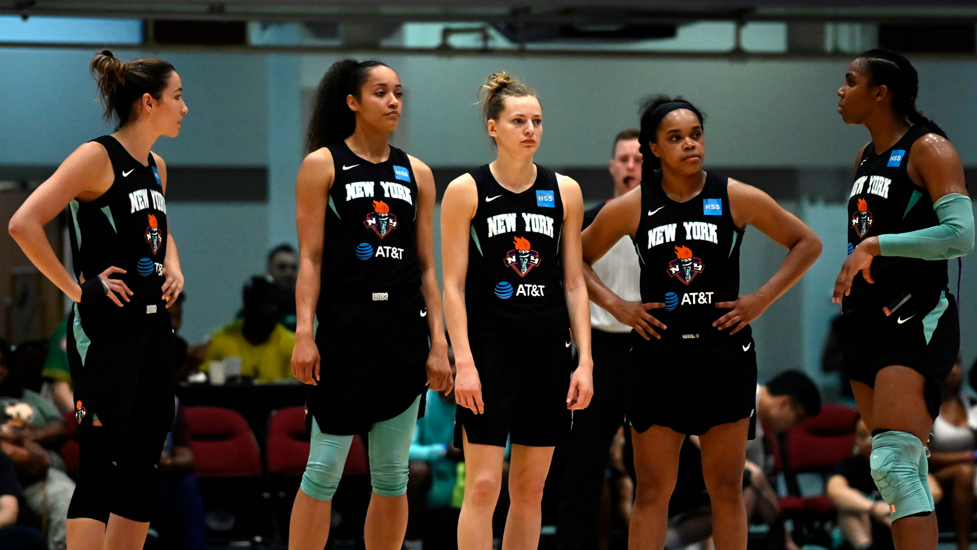 WNBA's New York Liberty to play homes games at Brooklyn's Barclays Center