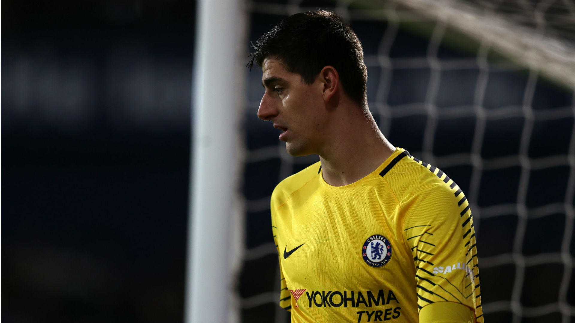 Thibaut Courtois puts Real Madrid on red alert