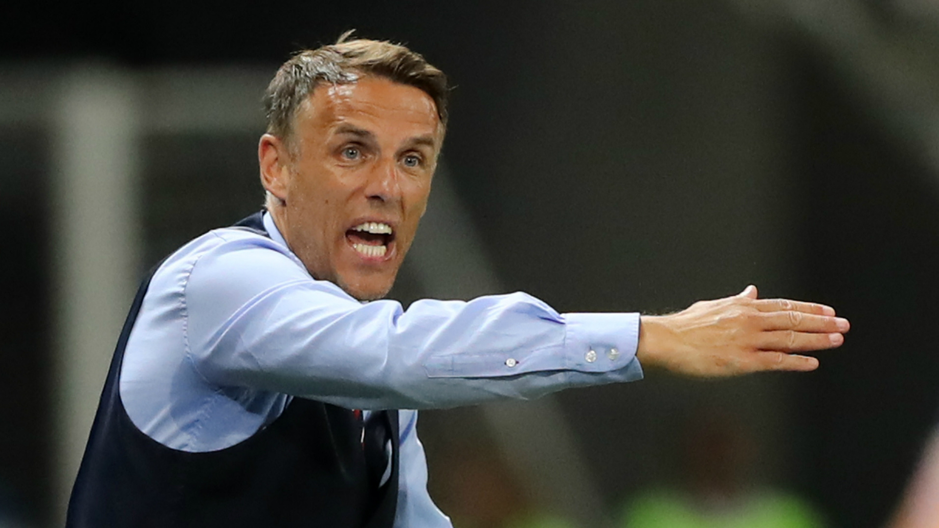 Phil Neville flattered by reported United States interest
