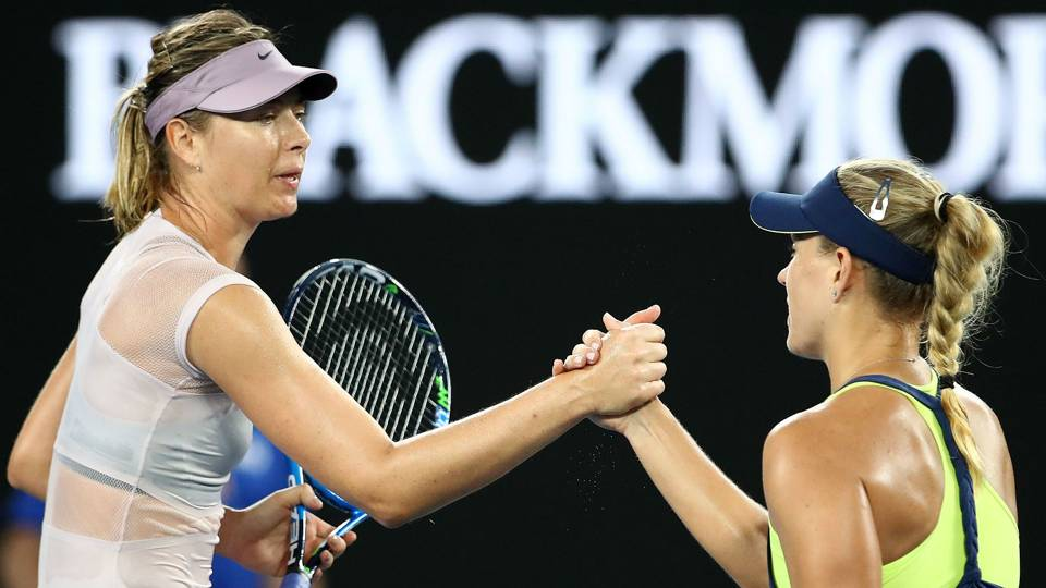 Australian Open 2018: Angelique Kerber downs Maria Sharapova in Melbourne masterclass