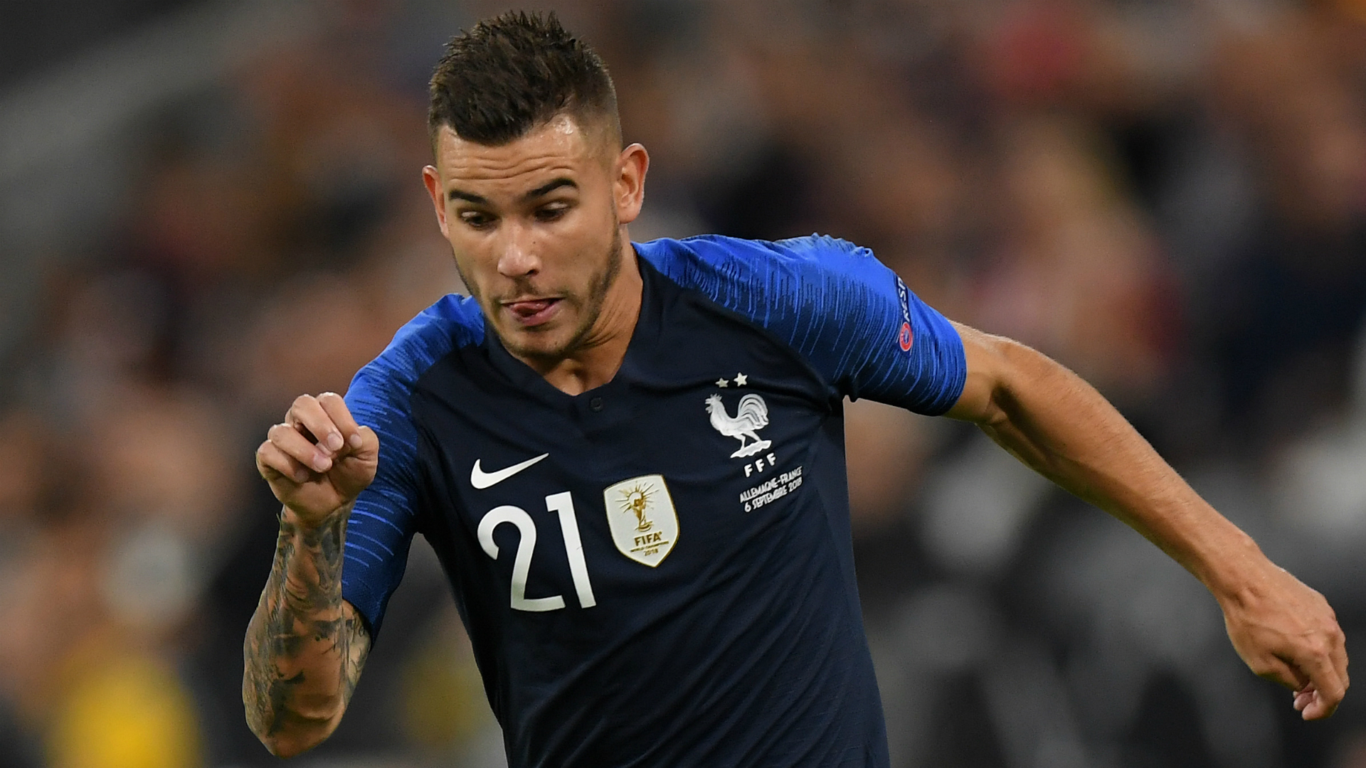 Bayern Munich sign Lucas Hernandez from Atletico Madrid for 80m