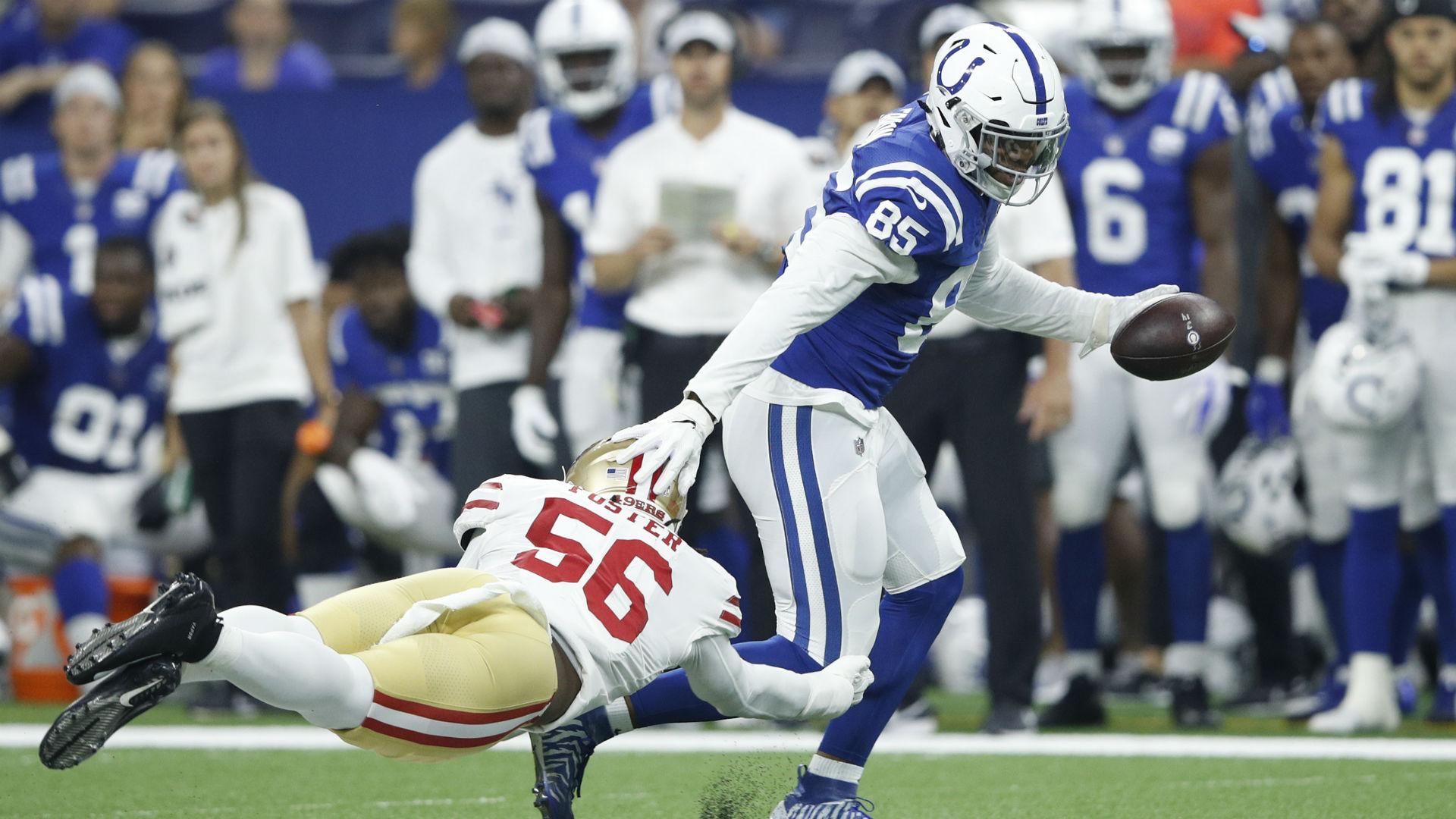 057ec17a7 49ers LB Reuben Foster suffers concussion vs. Colts
