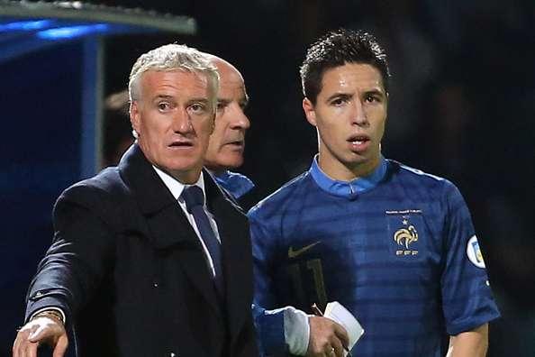 Nasri blames Deschamps, teammates for France retirement