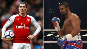 Hector Bellerin David Haye - cropped