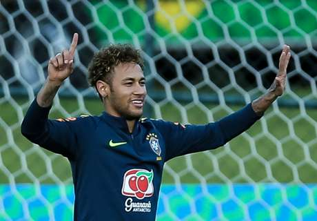 Neymar fitter than Brazil expected ahead of World Cup