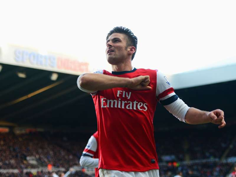 Wilshere: Giroud can lead Arsenal to the title