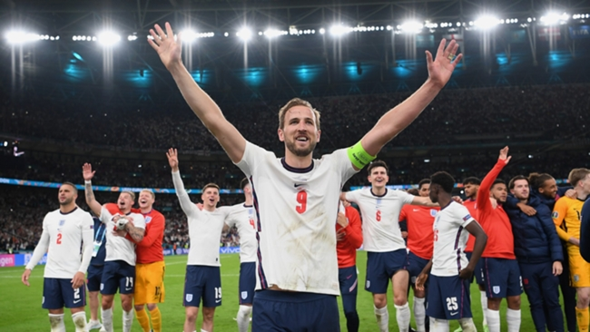 Harry Kane has matched Gary Lineker's England record