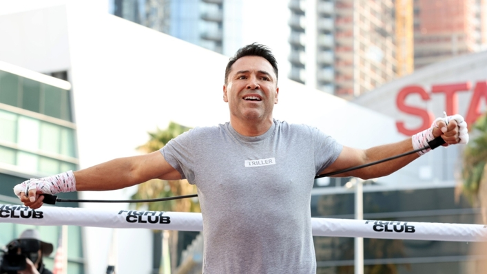 Oscar De La Hoya has contracted coronavirus