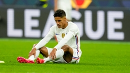 Raphael Varane will be out for a few weeks