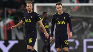 Christian Eriksen and Harry Kane - cropped
