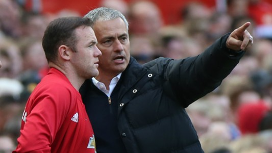 Mourinho and Rooney - Cropped