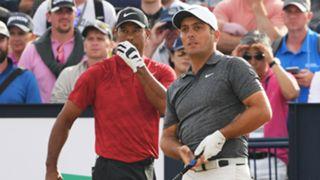 Tiger Woods Francesco Molinari - cropped