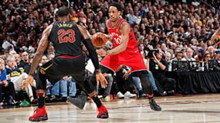 LeBron James and DeMar DeRozan