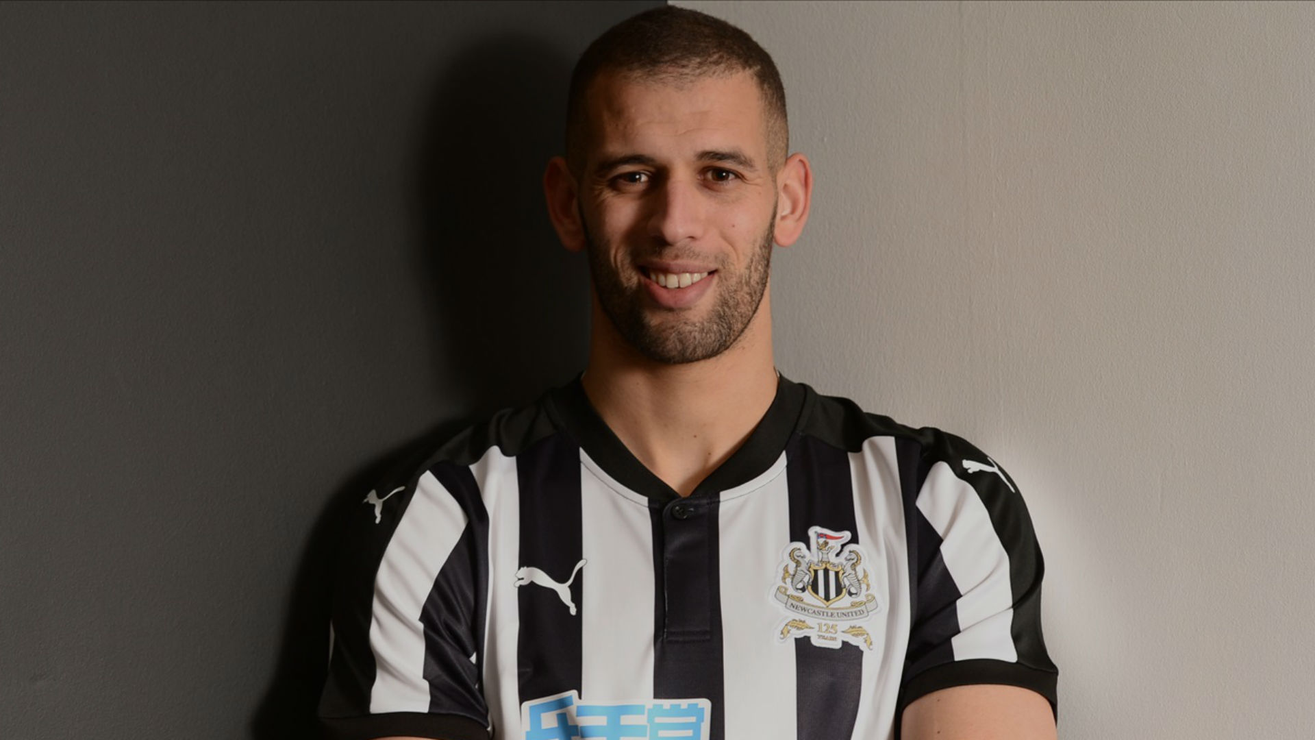 Newcastle United confirm Islam Slimani loan deal