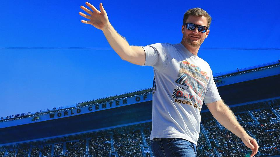 Dale Earnhardt Jr. gets advice from NBC producer: 'Just be yourself'