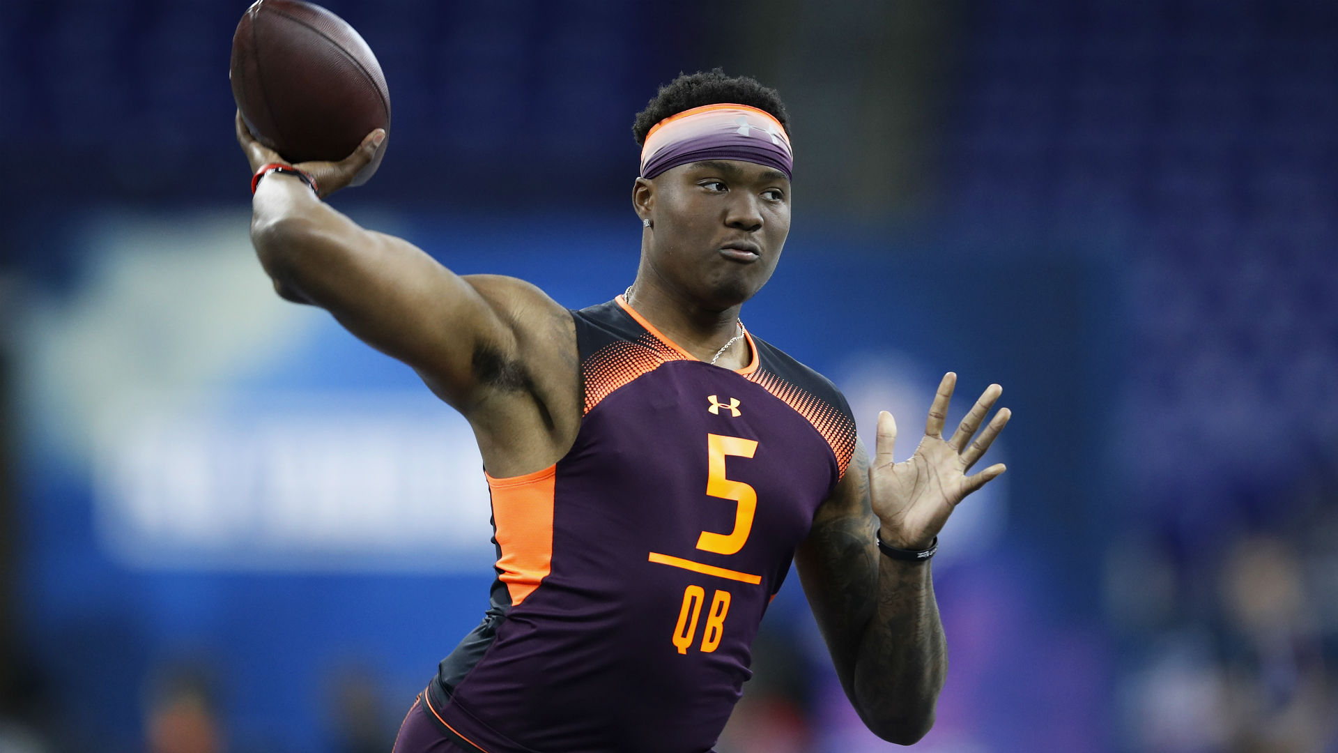 Redskins' Dwayne Haskins is 'for sure' a contender to start at quarterback, Jay Gruden says