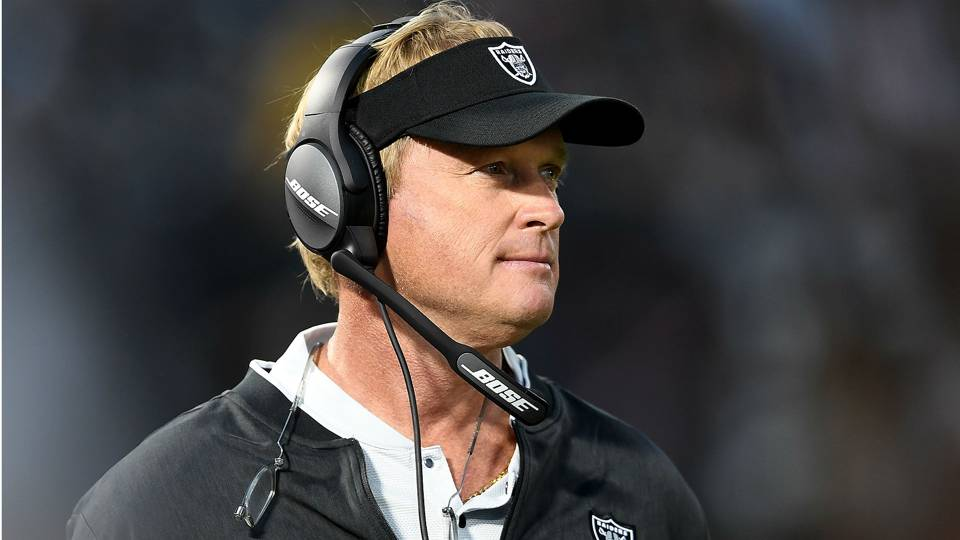 Jon Gruden on Khalil Mack trade: 'We're going to be second-guessed until the cows come home'