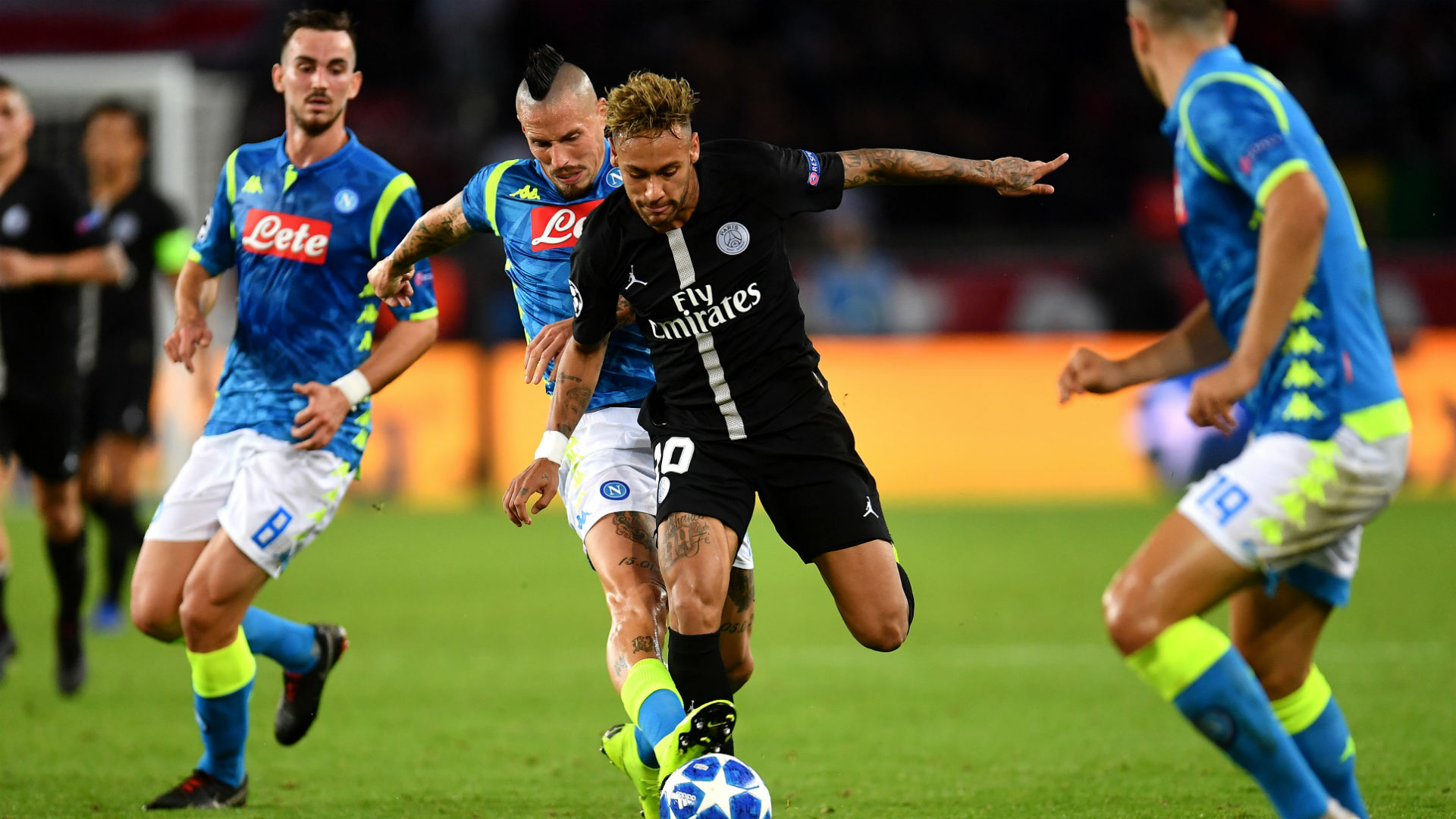 Neymar claims referee 'disrespected' him during Napoli draw