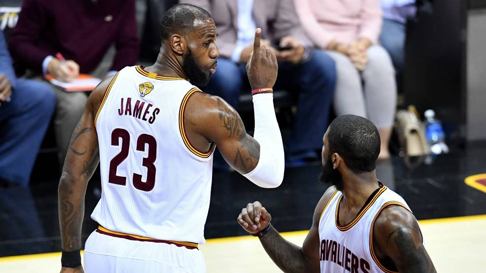 NBA Finals 2018: Did LeBron James just insinuate Kyrie Irving didn't want to win?