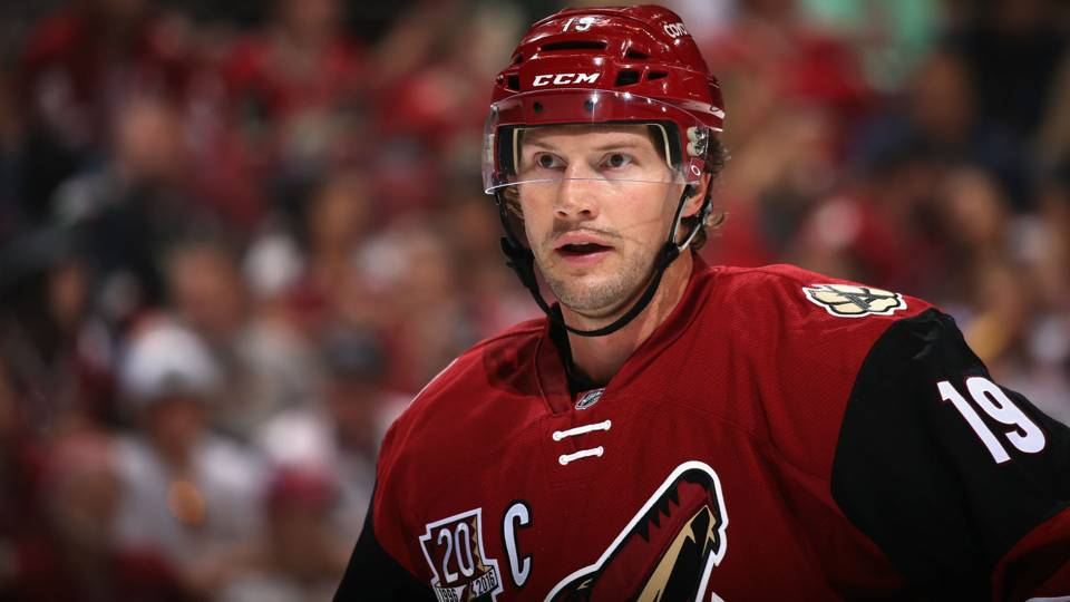 Coyotes to retire Shane Doan's No. 19