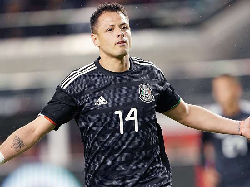 Mexico 4 Paraguay 2: Dos Santos ends wait as Almiron sees red