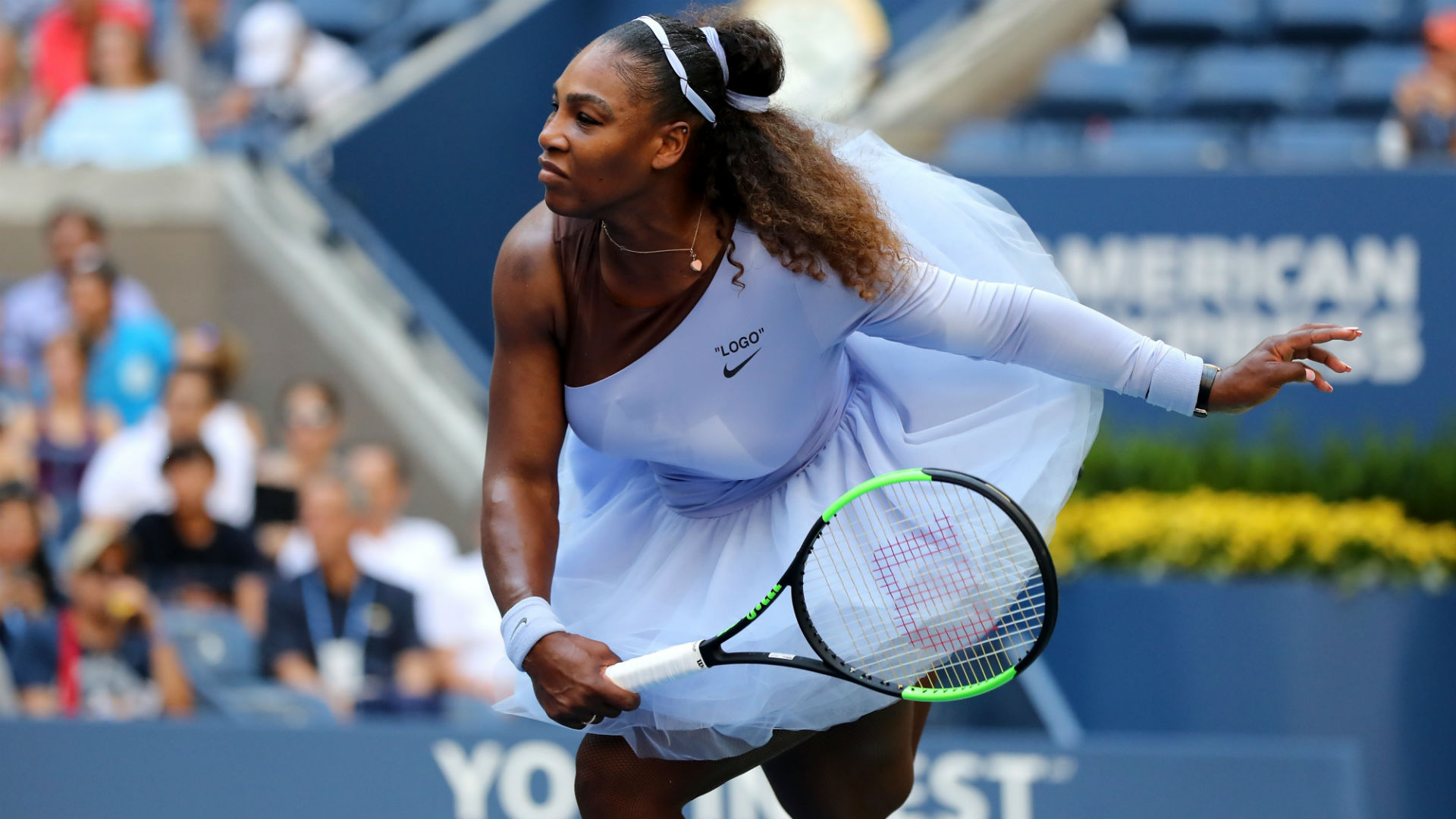 US Open 2018: Serena Williams comes through entertaining Kaia Kanepi clash to reach quarter ...