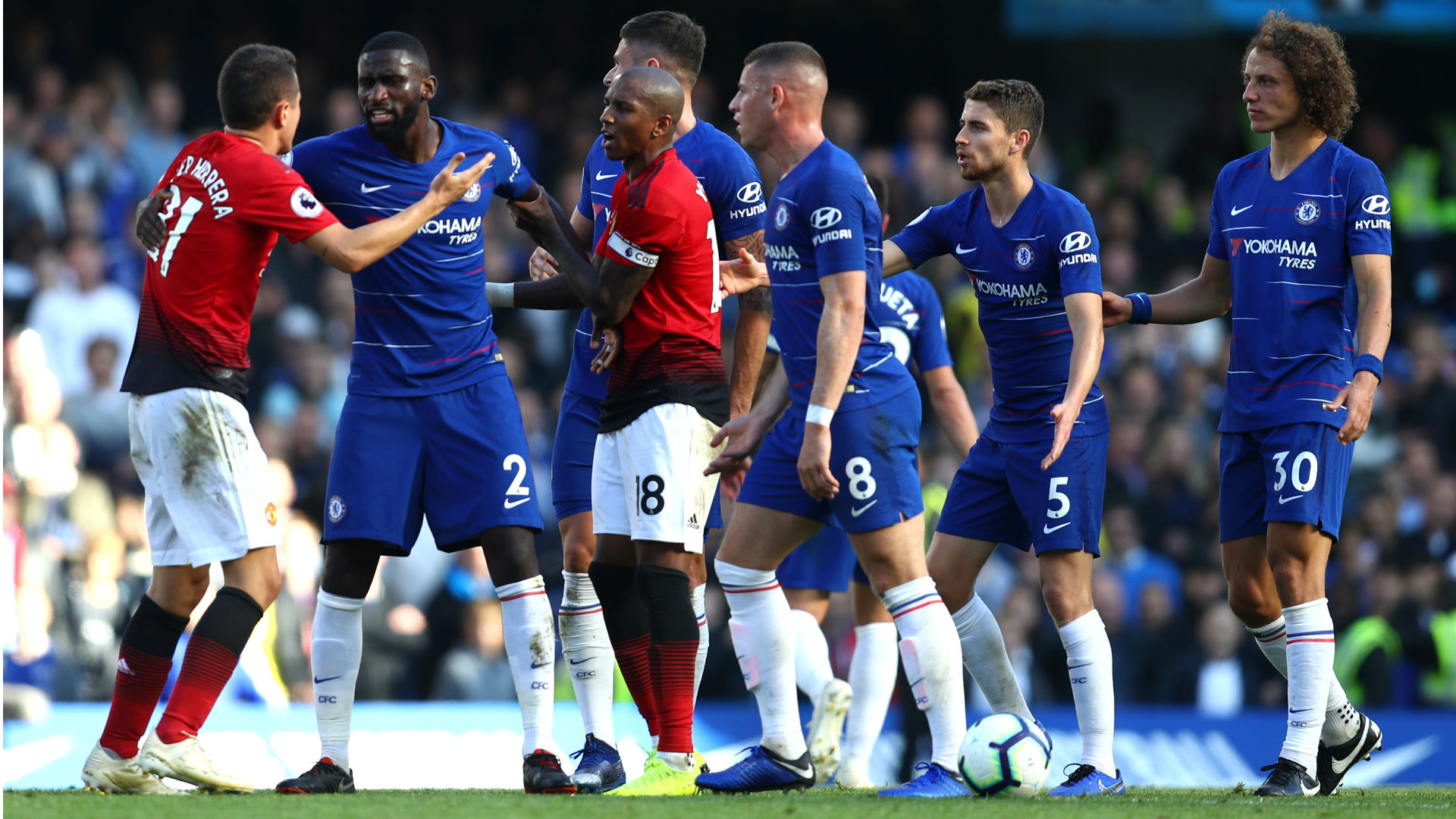 Twitter reacts as Manchester United concede late on at Stamford Bridge