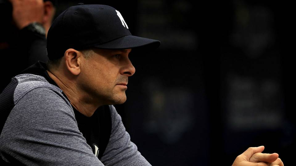 MLB hot stove: Yankees not expecting to add any more players before spring training, Aaron Boone says