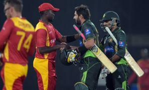 Pakistan v Zimbabwe - cropped