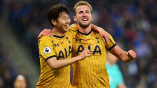 son heung min harry kane - cropped